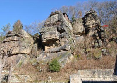 Geogefahren Elbsandsteingebirge